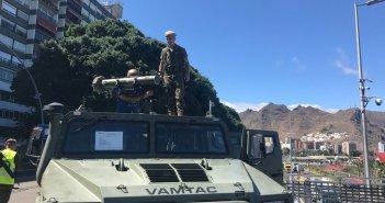 Дни Вооруженных сил Испании проходит в Santa Cruz de Tenerife