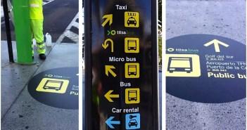 TITSA улучшает визуальную информацию для пользователей в аэропорту Reina Sofia