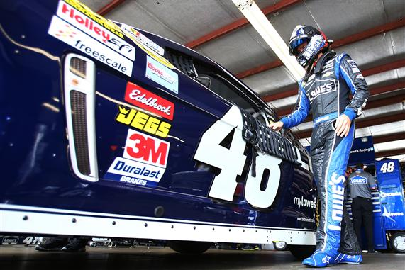 Jimmie Johnson fantasy NASCAR
