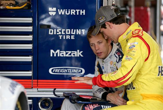 Joey Logano Brad Keselowski Fantasy NASCAR