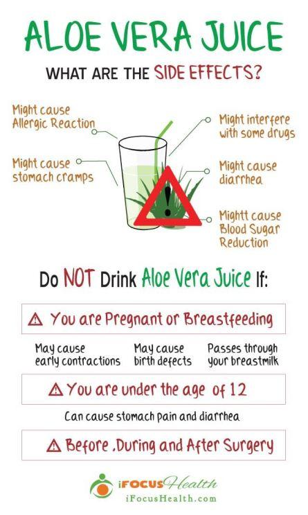 Is Aloe Vera Juice Dangerous To Drink