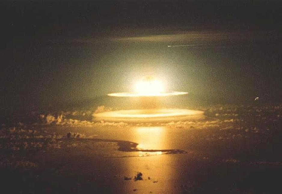 nuclear explosion eco