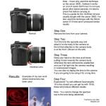 Da la vuelta a tu objetivo en tu cámara de fotos