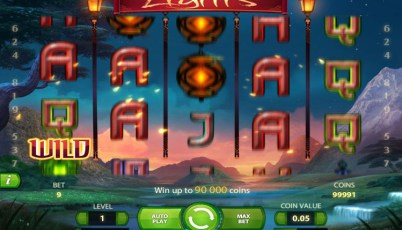 lights slot machine
