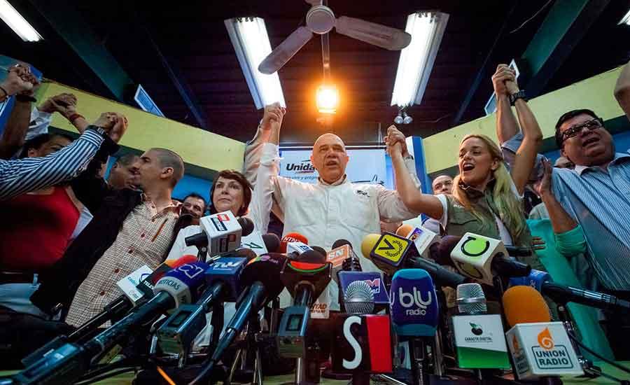 unidad venezuela socialismo oposicion regimen dictadura