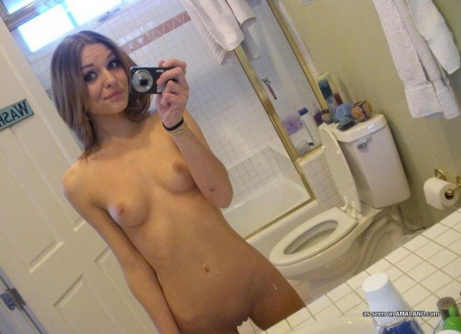 mature naked self shots