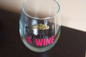 Sparkle & Wine Glass