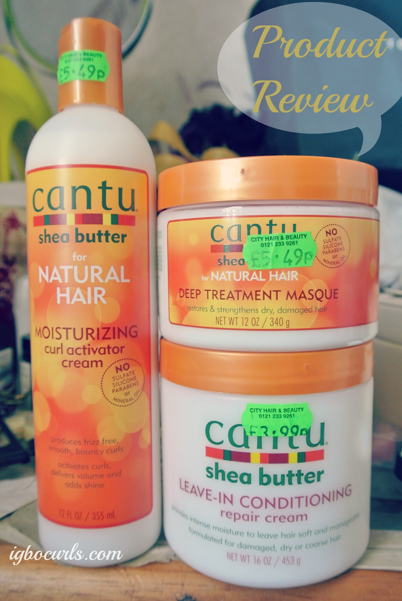 Product Review Cantu Shea Butter Masque Leave In Amp Curl
