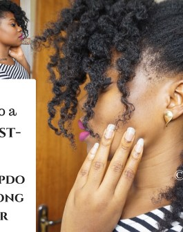 2 in 1-The Secret To A Flawless Twist Out + Hidden Half Up Style