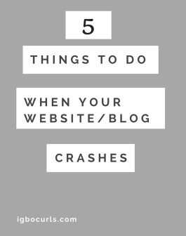 5 Things To Do When Your Website is Down