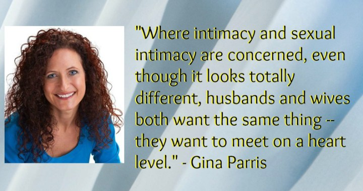 Gina Parris discusses sex in marriage