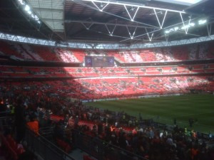 Stadion Wembley znowu będzie gospodarzem finału Ligi Europejskiej w 2013 roku