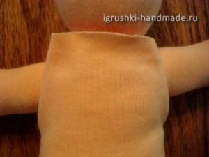 как сделать текстильную куклу Младенца своими руками
