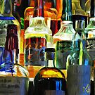 Bottles in the Night by YepGraphix