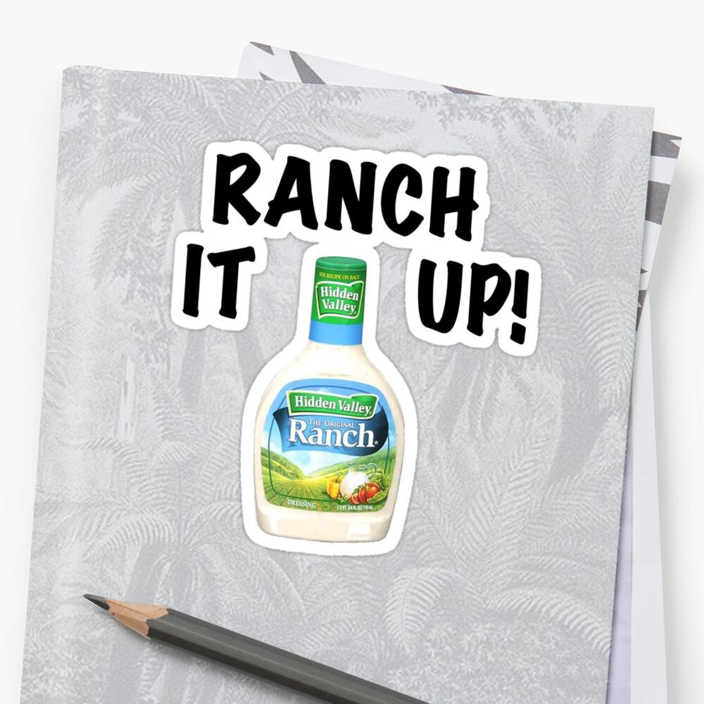 Fullsize Of Ranch It Up