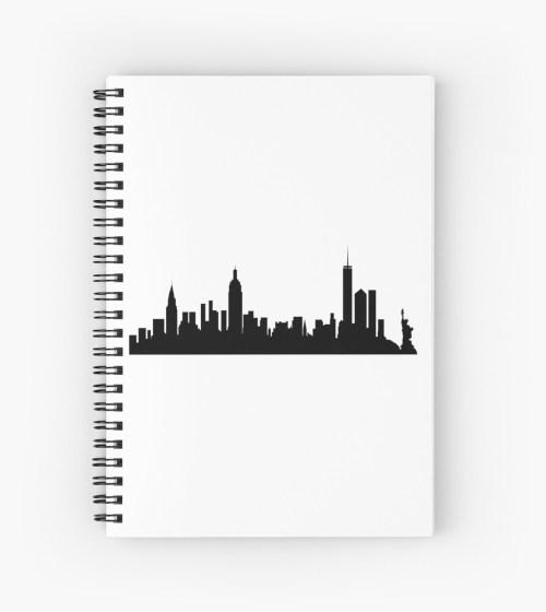 Medium Of New York City Skyline Silhouette