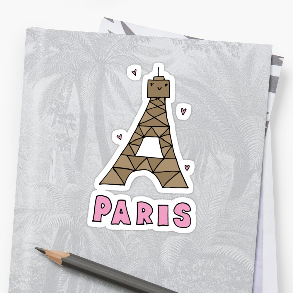 Fullsize Of Eiffel Tower Cartoon