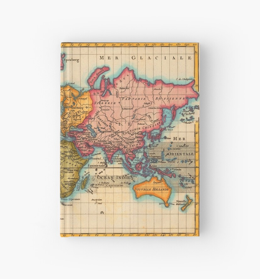 World Map 1700s Antique Vintage Hemisphere Continents Geography     World Map 1700s Antique Vintage Hemisphere Continents Geography by  antiqueart