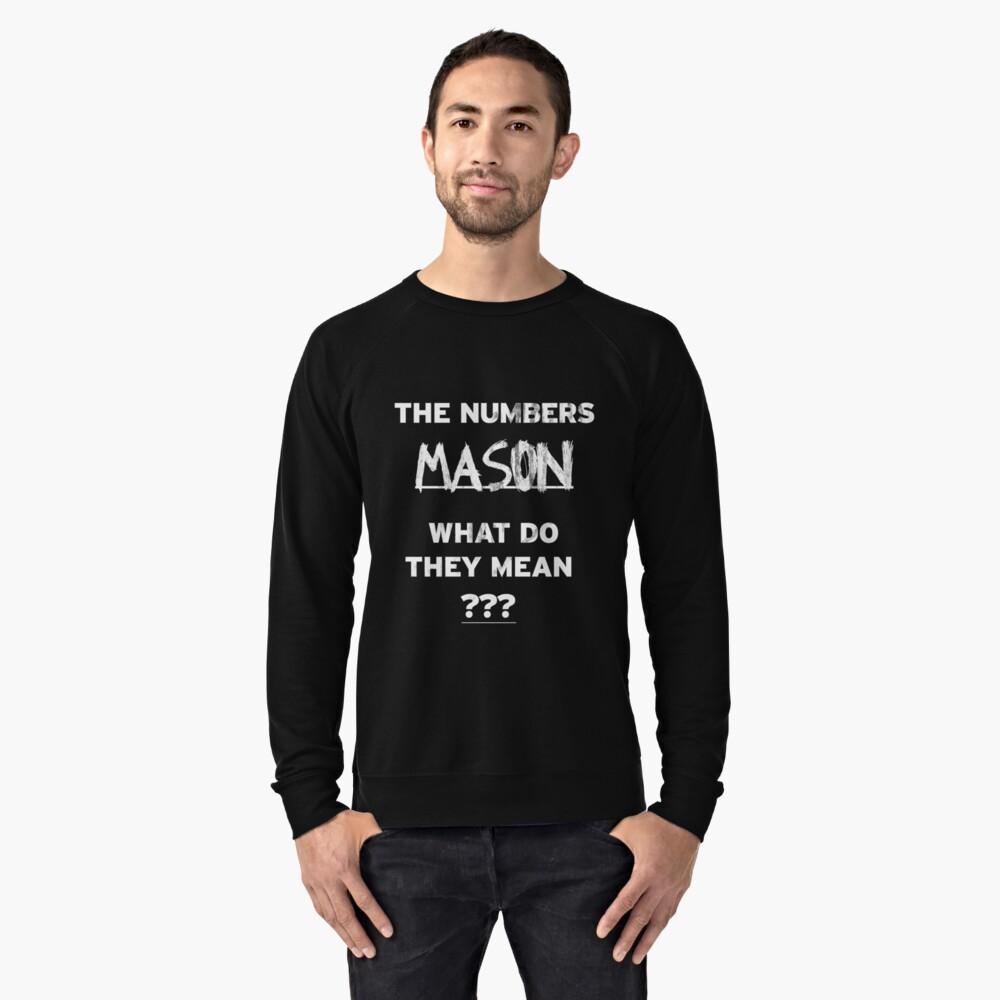 Lummy What Do Y Cod Lightweight Sweatshirt Byjanvonw Redbubble What Do Y Cod Lightweight Numbers Mason Meme Numbers Mason Earrape houzz-03 The Numbers Mason
