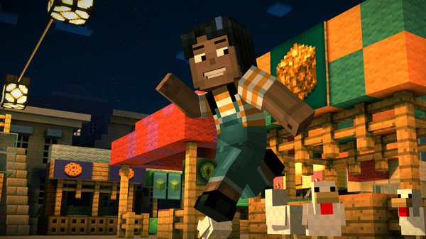 Mincraft Story Mode cracked