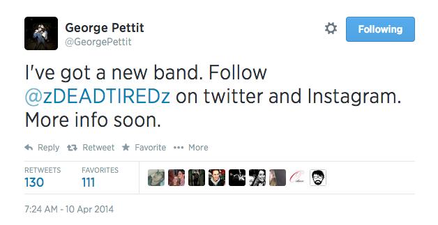 George's Tweet