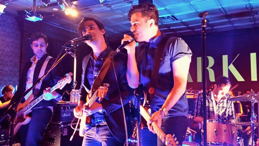 Image result for arkells in performance non copyright pics
