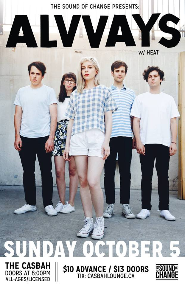 UPCOMING: Alvvays at The Casbah