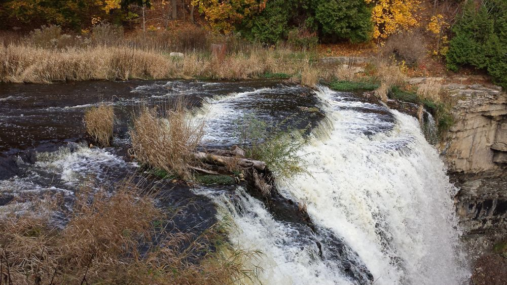 (WATERFALLS) WEBSTER'S FALLS