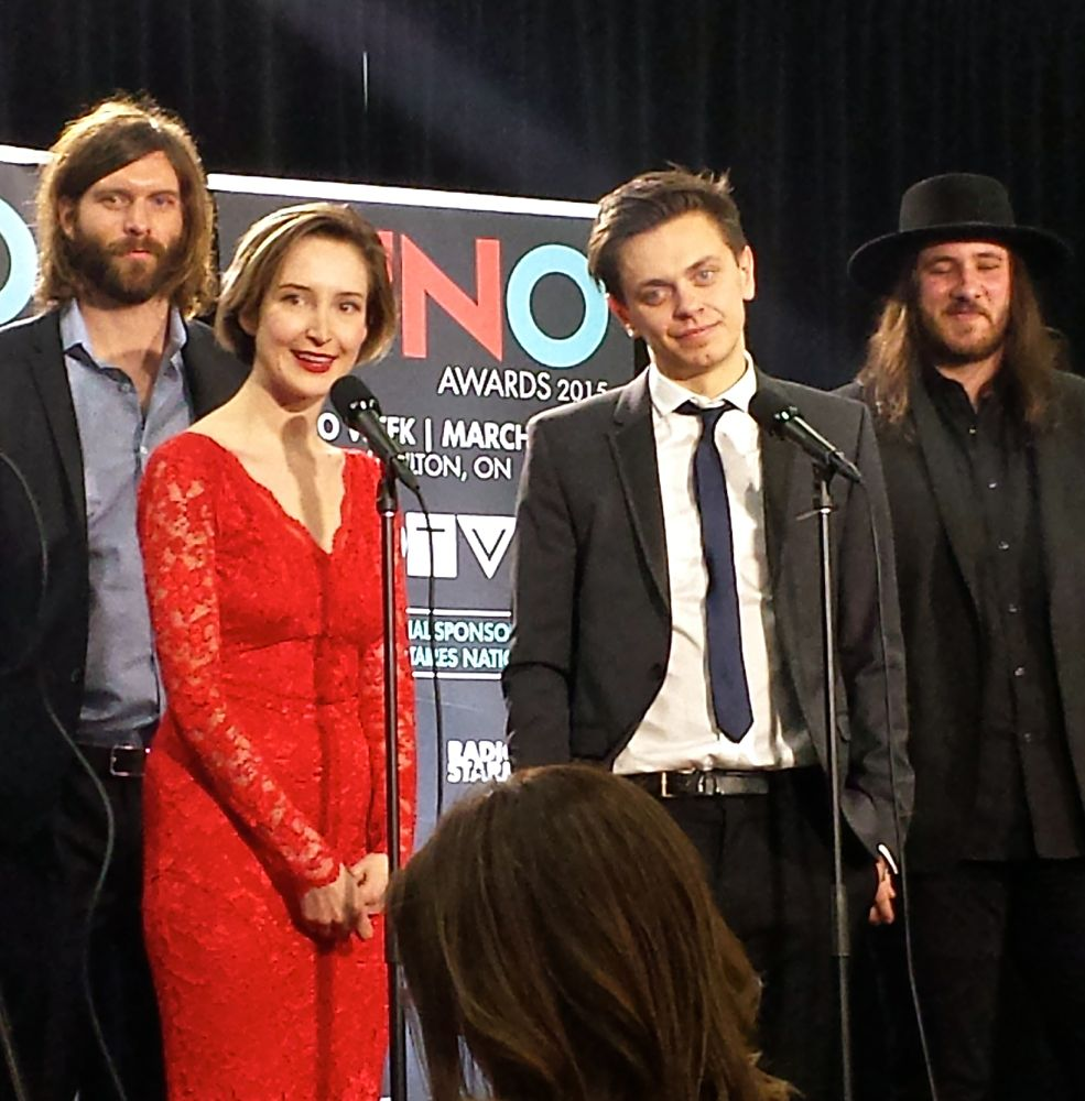 July Talk after their JUNO win
