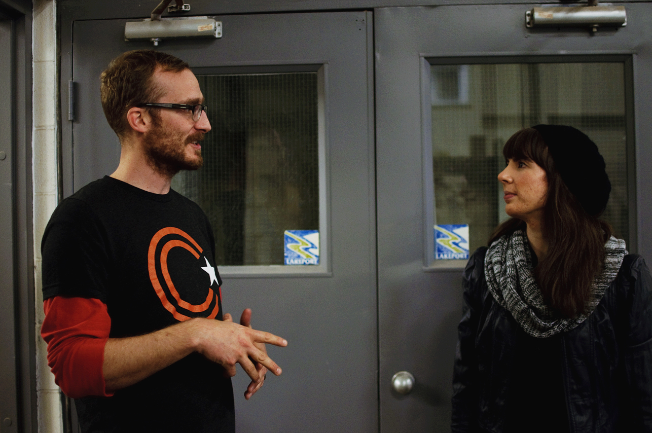 Dane Pedersen and Kristin Archer at Collective Arts Brewing