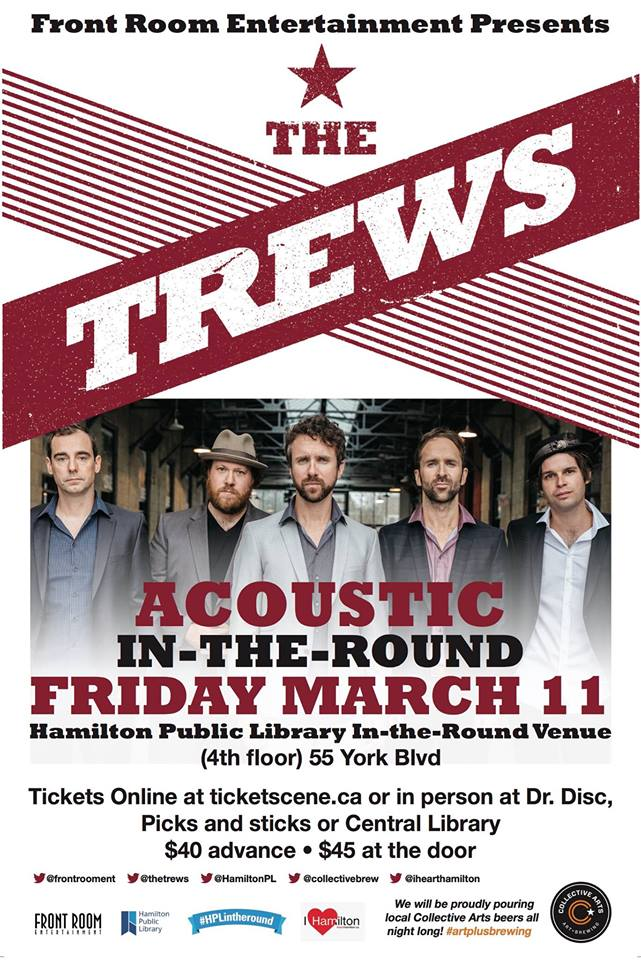 CONTEST: THE TREWS IN-THE-ROUND