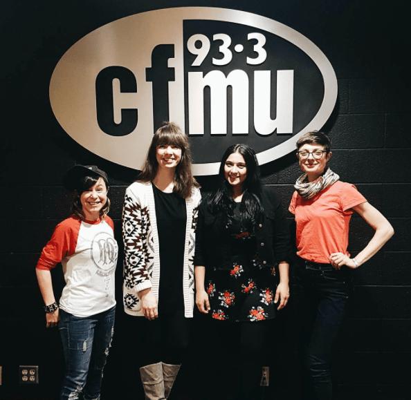 Julie Fazooli, Kristin Archer, Rosa Patriquin, Rachael Henderson