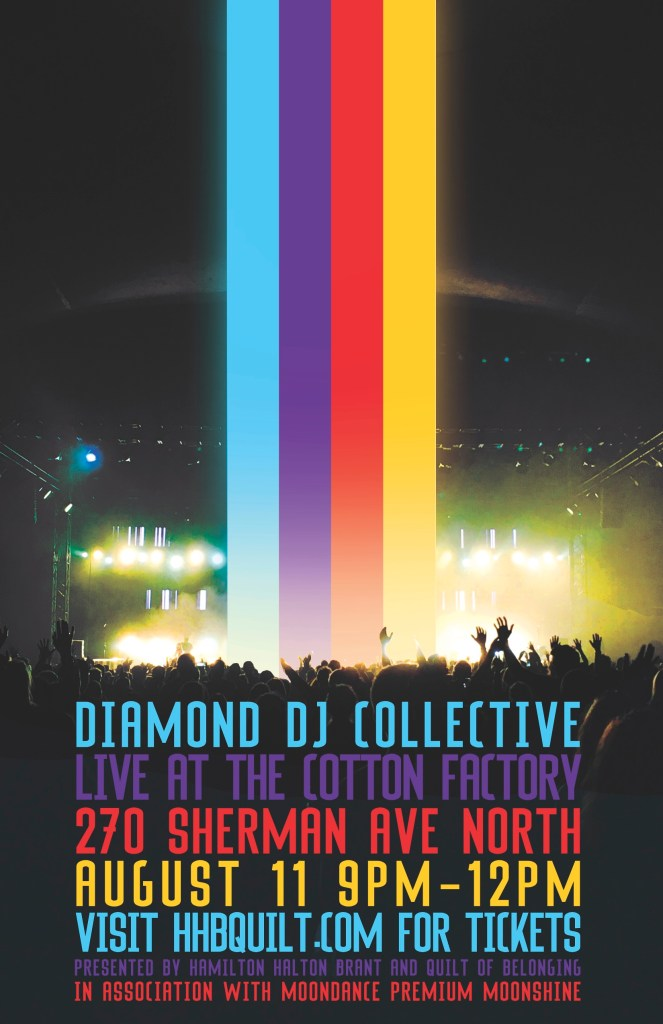 Diamond DJ Collective Aug. 11 at The Cotton Factory