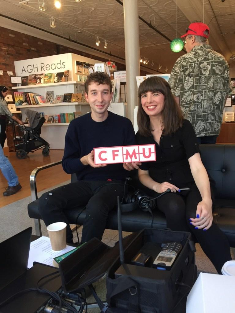 Dan Edmonds and Kristin Archer. Photo courtesy of 93.3 CFMU