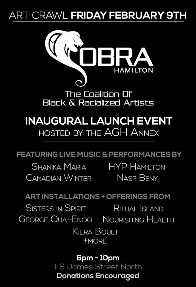 COBRA (Coalition of Black & Racialized Artists Hamilton)