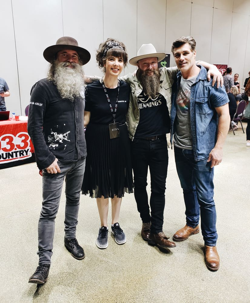 Kristin Archer with The Washboard Union at CCMA