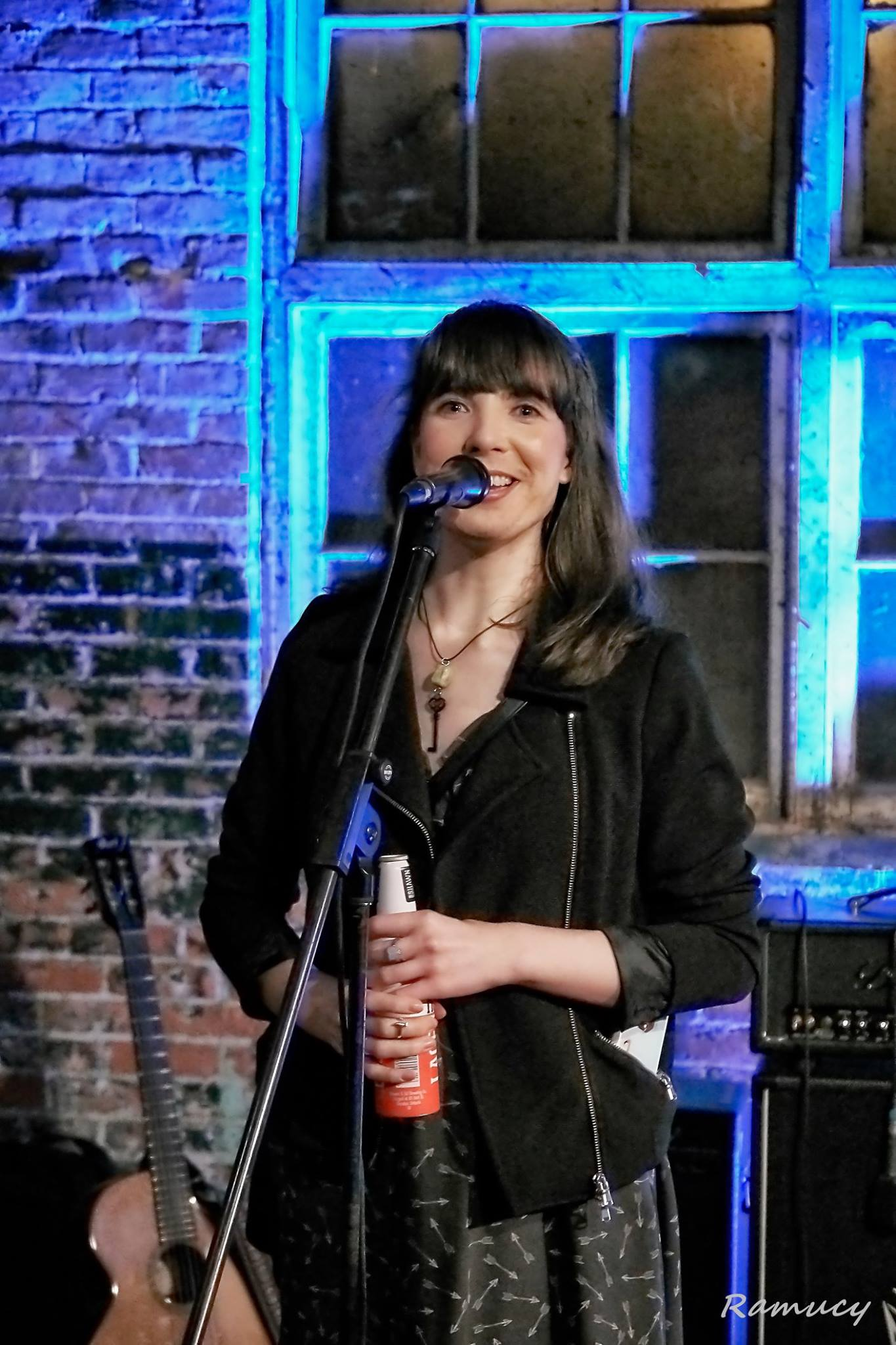 Hosting Live At The Mule Spinner. Photo by Don Gleeson.