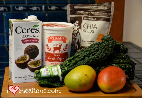 Copycat Jamba Juice Kale-ribbean Breeze Smoothie Ingredients