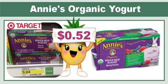 Annie's Organic Yogurt Coupon Deal