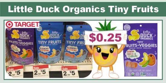Little Duck Organics Tiny Fruits Coupon Deal