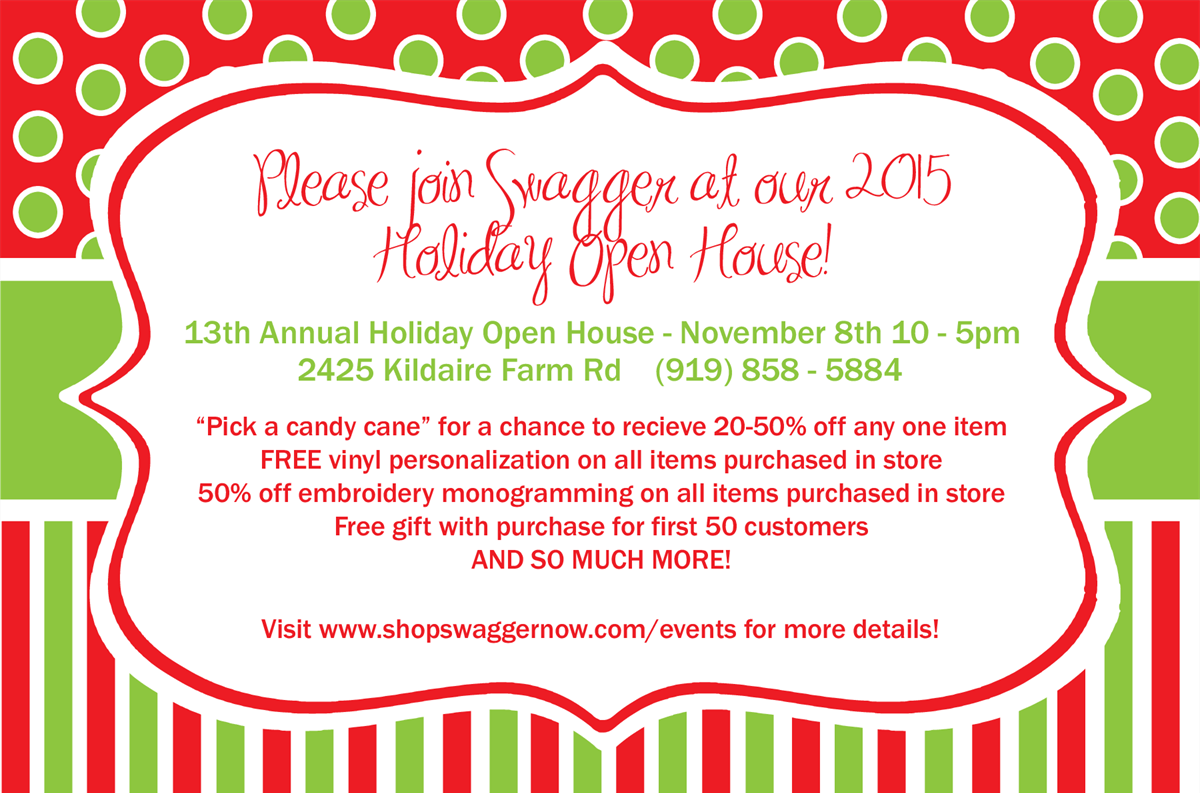 You Re Invited Upcoming Holiday Open House Events I Heart Retail Local Shopping And Retail