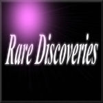 ._Rare Discoveries_.  logo .