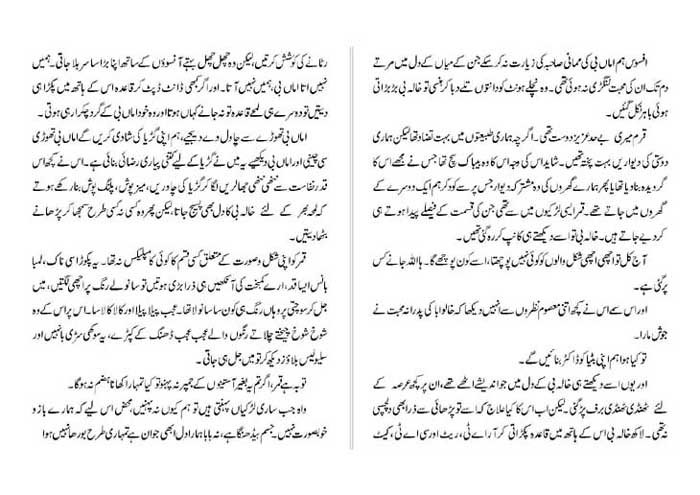 Novels By Nighat Seema