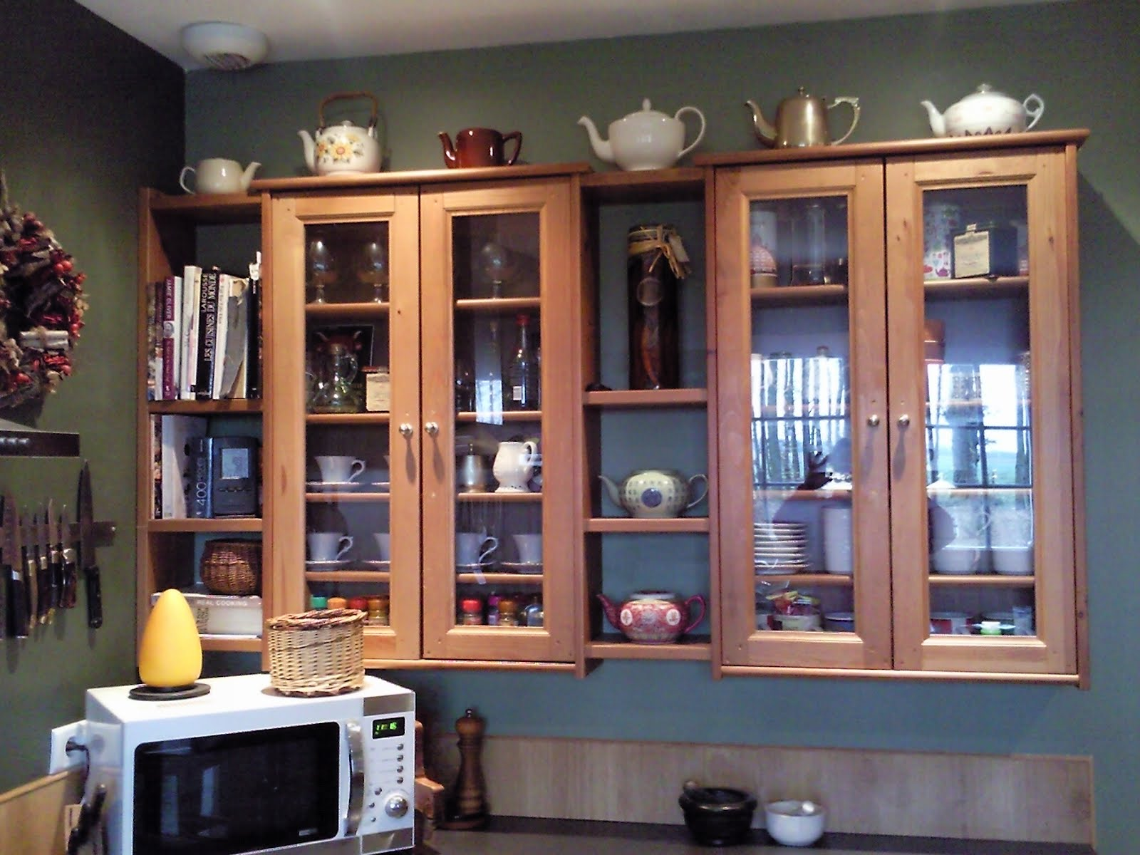 leksvik pine cd cabinets and ikea pine shelves kitchen cabinets pine cabinets kitchen Sorry about the mess in the kitchen I m not looking for a design award just sharing an idea