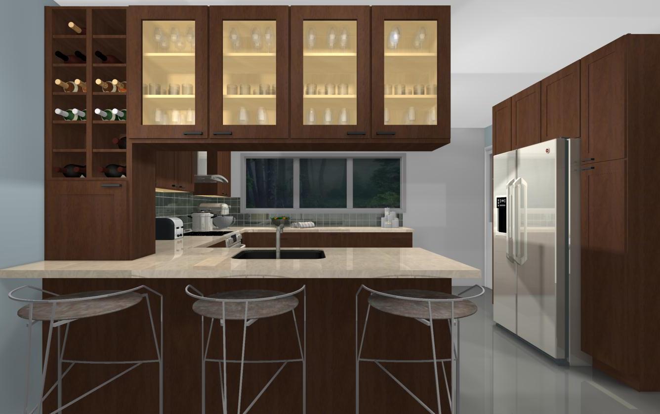 useful kitchen spaces peninsulas that work ikea kitchen design