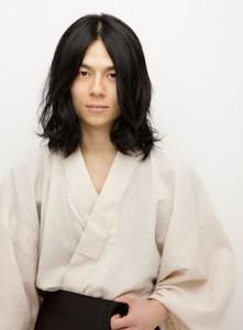 浴衣 男性 髪型、4