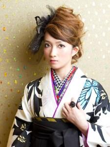 卒業式 袴 髪型 ショート ミディアム ロング 女性 4