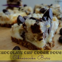 Recipe: Chocolate Chip Cookie Dough Cheesecake Bars