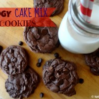 Recipe: Fudgy Cake Mix Cookies