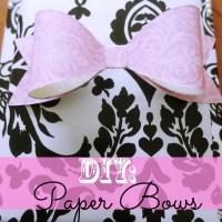 DIY: Paper Bows